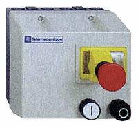 Avviatore diretto con pulsante d'emergenza