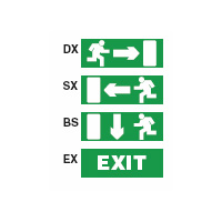 Pittogrammi DX/SX/BS Rilux 6