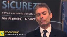 Intervista al Presidente Romano - Anie Sicurezza