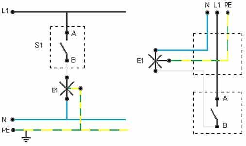 Schema Elettrico Punto Luce : I circuiti di base voltimum italia