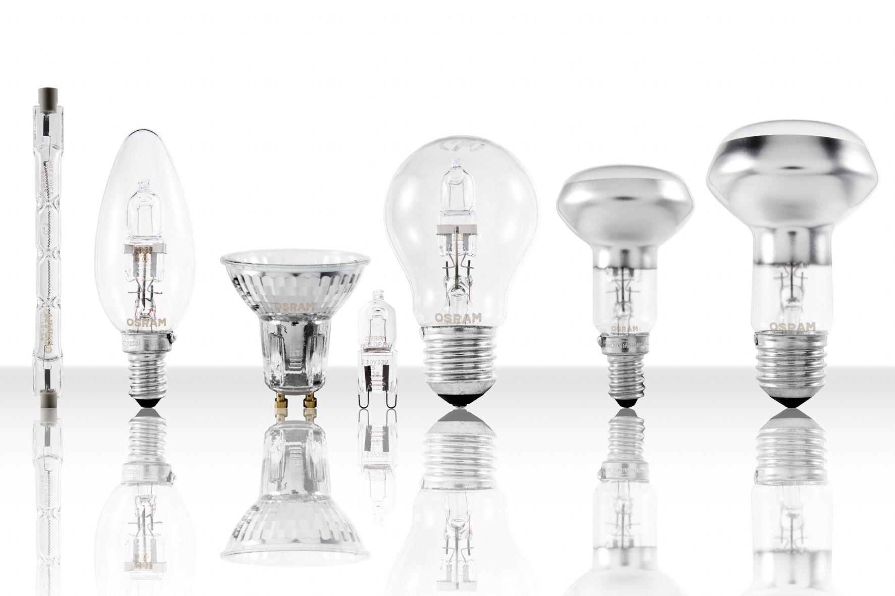 Solo da osram la nuova gamma completa di lampade for Lampadine alogene
