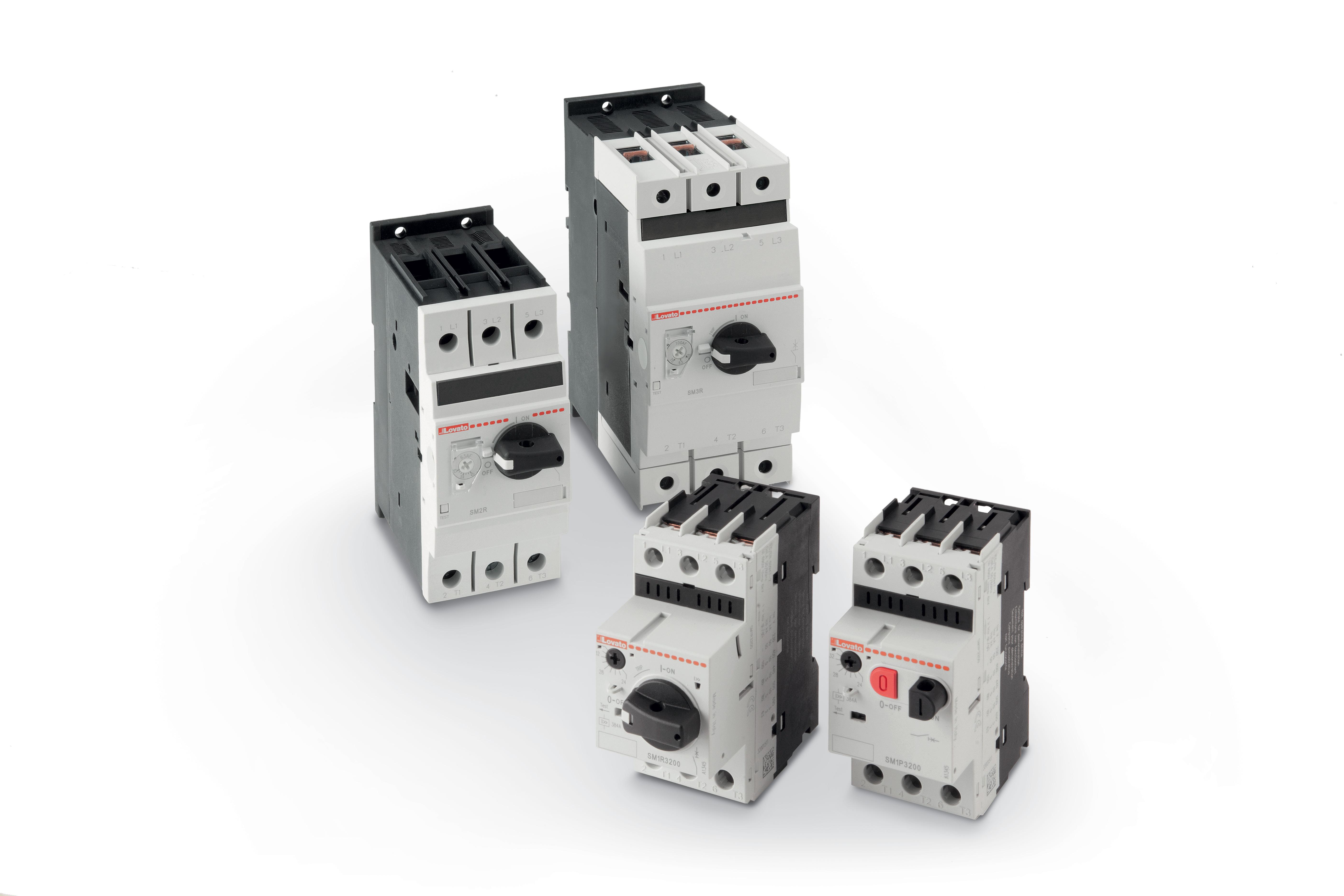 Schema Elettrico Contattore E Salvamotore : Interruttori salvamotori magnetotermici serie sm la protezione è tutto