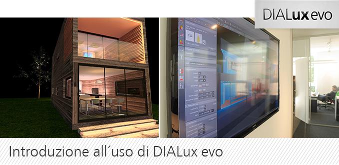 Tutorial: introduzione all'uso di DIALux evo