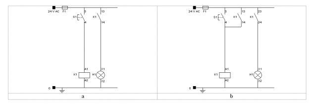 Schemi Elettrici Di Base : Introduzione agli schemi elettrici industriali e
